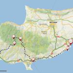 Kypr, Larnaca -> Limmasol -> Olymp -> Pafos | 222 km pěšky a stopem po Kypru